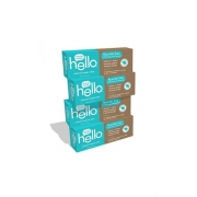 Hello Oral Care Fluoride Free Whitening Toothpaste with No Artificial Sweeteners