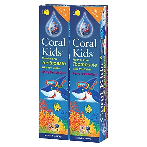 Coral Kids Natural Fluoride Free Toothpaste