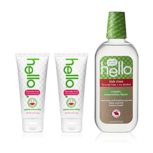 Hello Oral Care Kids Fluoride Free Toothpaste